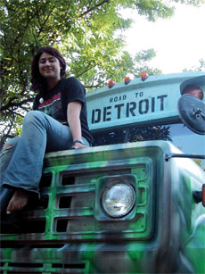 Sarah Trapido ´08: Going 13,000 miles on veggie oil