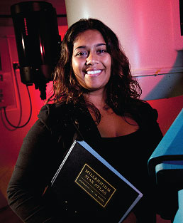The Aspiring Astrophysicist: Christina Balkaran '12
