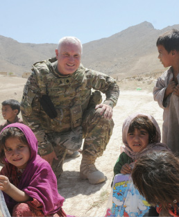 A rabbi in Afghanistan