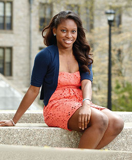The Student Leader: Diane Essis '12
