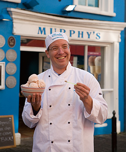 Inventing new ice cream flavors in Ireland