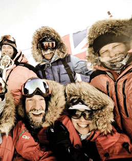 A push to the South Pole