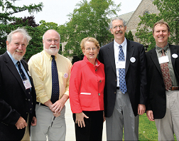 <b>College dedicates Green to Jean C. Tempel ´65</b>