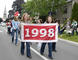 The Class of 1998 in the parade.<em><span style=font-size:9pt;>&nbsp;Credit: A. Vincent Scarano</span></em>