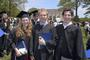 Graduates enjoy Commencement 2012.<em><span style=font-size:9pt;>&nbsp;Credit: Jon Crispin</span></em>