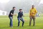 Members of the classes of 2002 and 2007 don't let a little fog cloud their spirits during Games on the Green.
