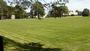 The natural athletic fields on Tempel Green have been refurbished to meet NESCAC playing standards.