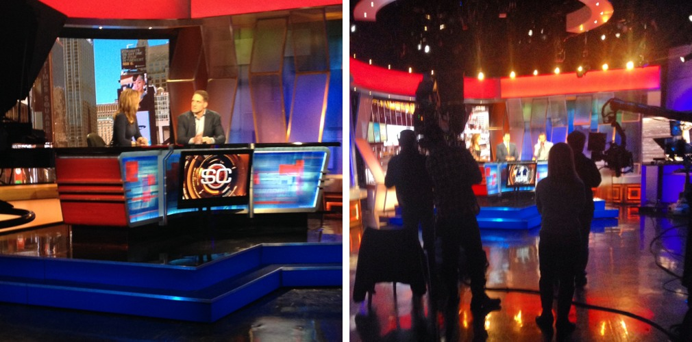 Behind the scenes of ESPN