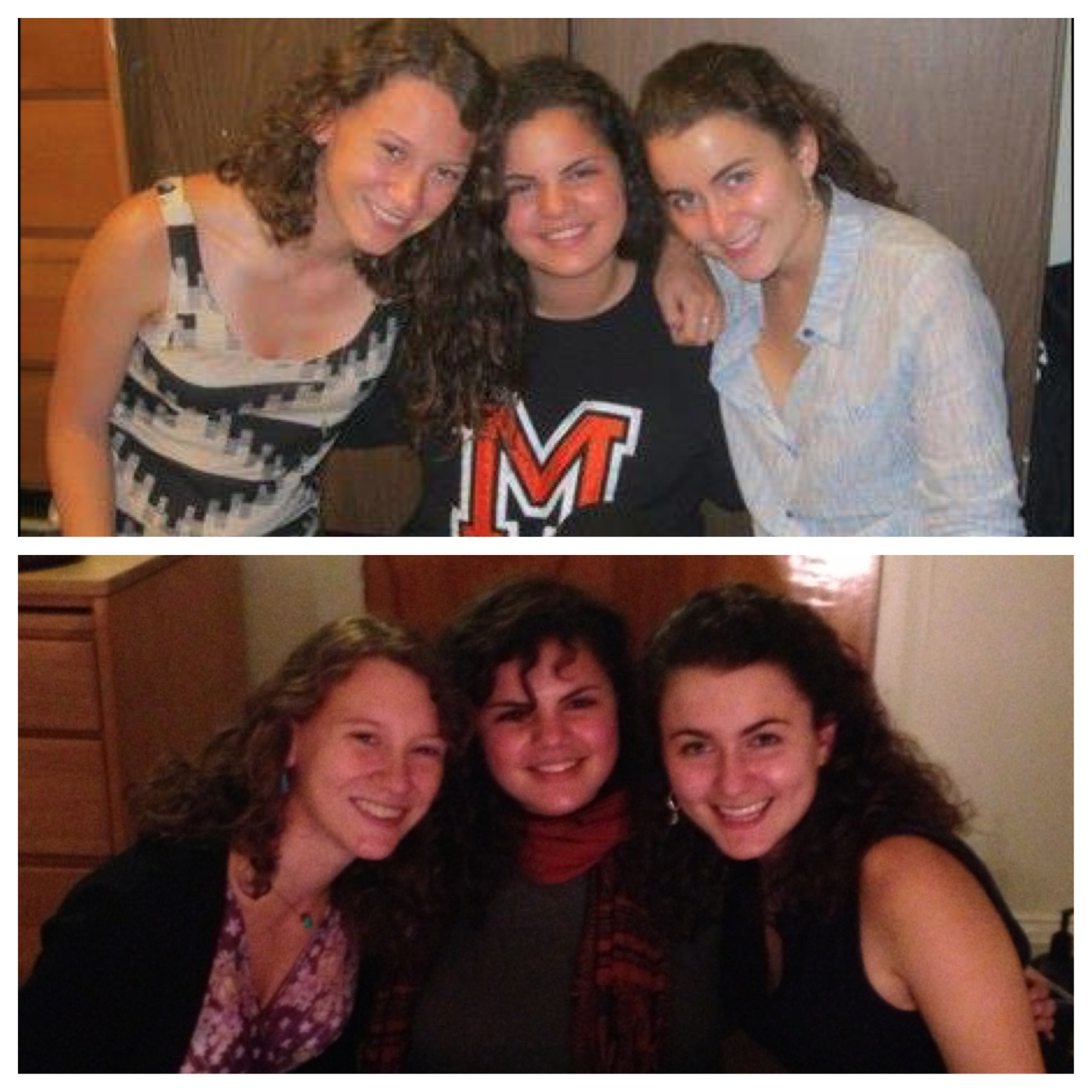 Marina and friends, 2012 and 2013