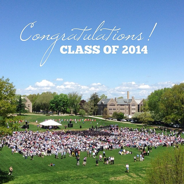 Happy Summer! And congratulations to the Class of 2014!