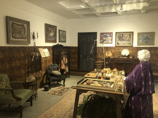A recreation of a room from the original nut museum.
