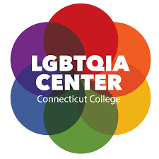 The rainbow logo of the LGBTQIA Center