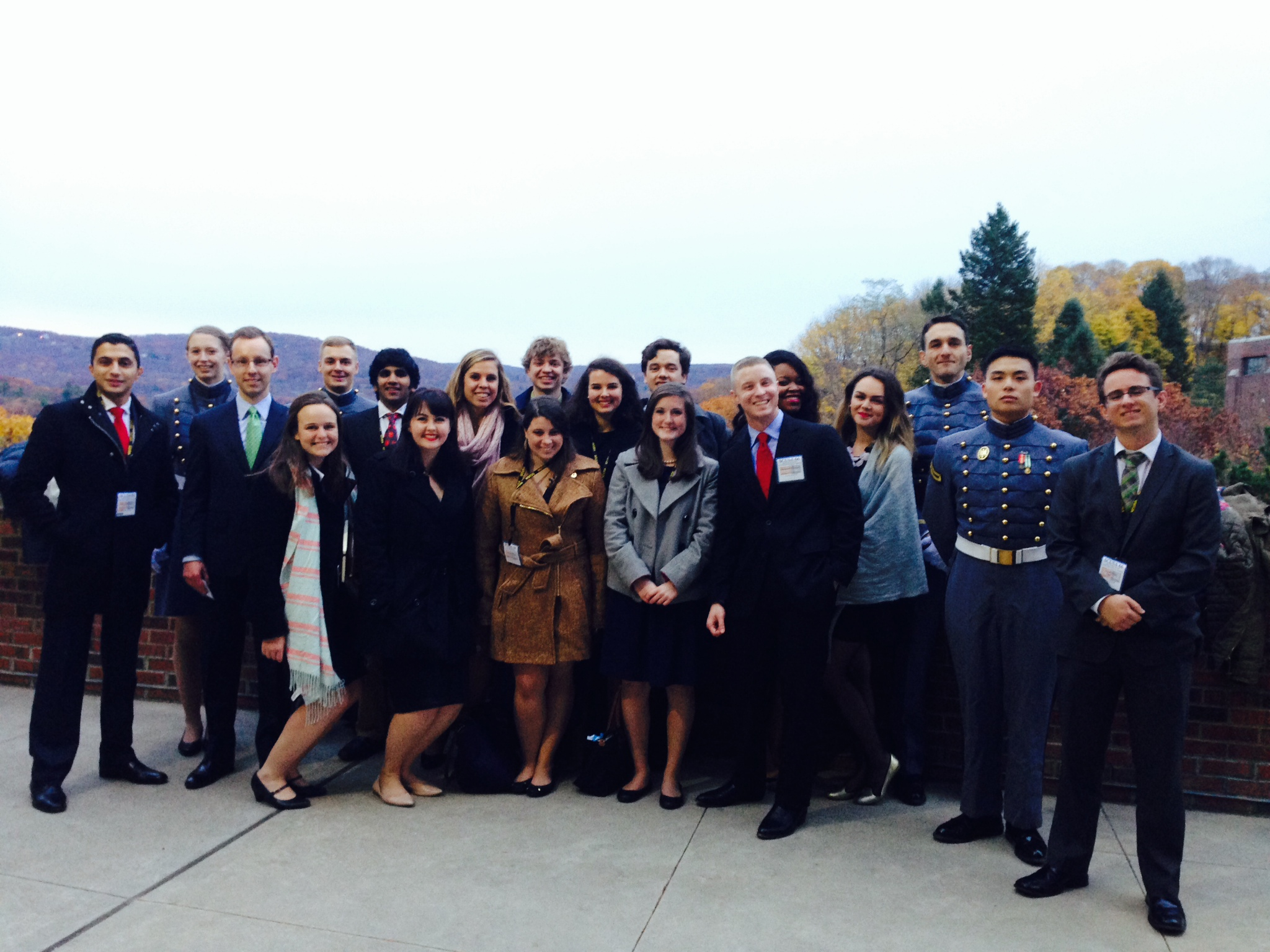 photo of my roundtable group at West Point