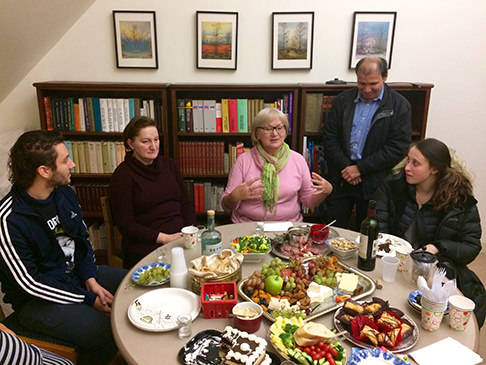 Slavic Studies students meet with the local Russian Community.