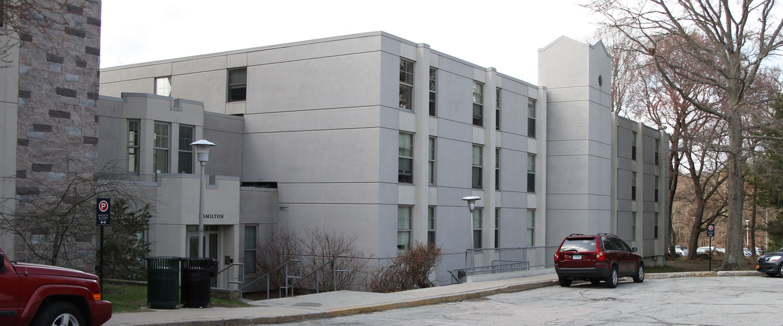 Hamilton House residence exterior building