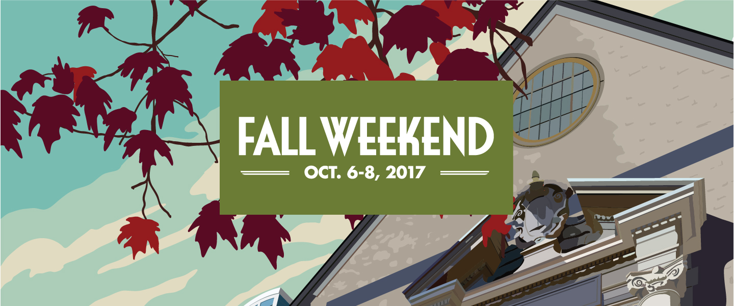Fall Weekend 2017 banner