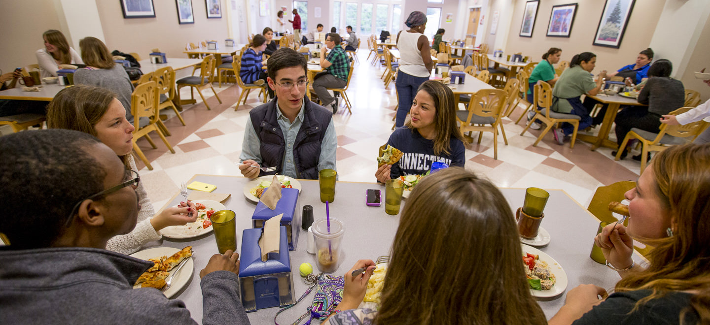 nutrition and health information · connecticut college dining in harris refectory at connecticut college