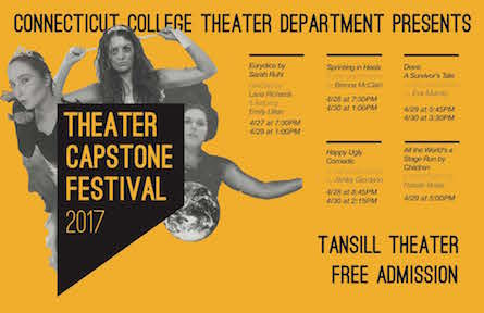 poster for the Theater Capstone Festival 2017