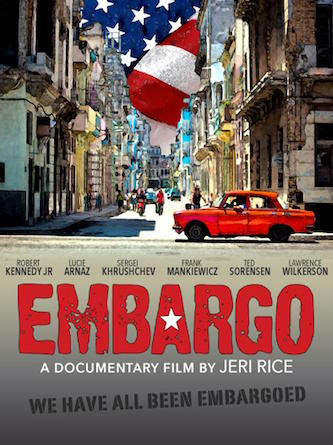 Poster for documentary 'Embargo'