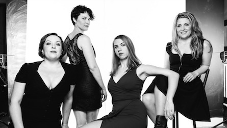 Quince Contemporary Vocal Ensemble. Photo by Alexsandr Karjaka.