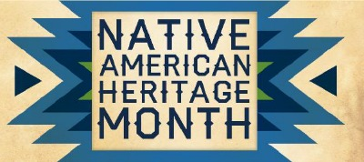 Logo for Native American Heritage Month 2016