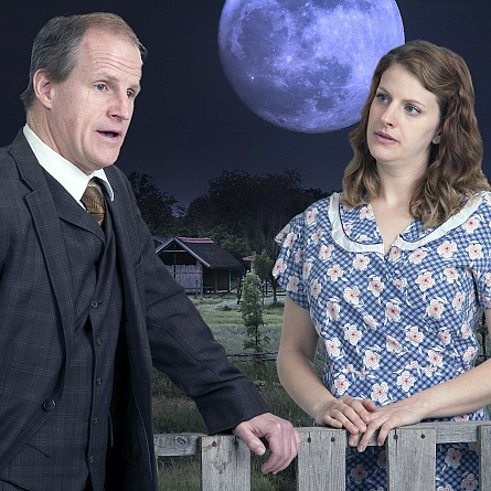 Walnut Street Theater Moon for the Misbegotten, image by Mark Garvin