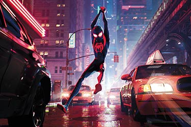 Spider-Man still from Spider-Man: Into the Spider-Verse