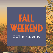 Fall Weekend Square Graphic
