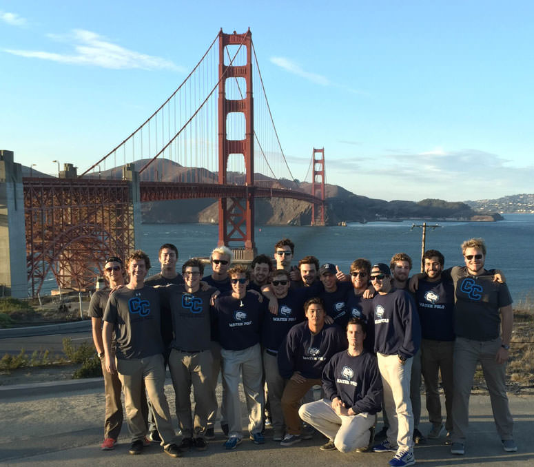 The Men's Water Polo Team in San Francisco