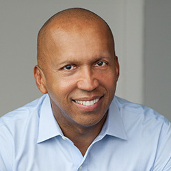 "Bryan Stevenson, author of ""Just Mercy: A Story of Justice and Redemption,"" will be the Distinguished Lecture Series inaugural speaker April 4, 2016. Photo by Nina Subin."