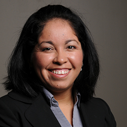 Assistant Professor of Sociology Ana Campos-Holland
