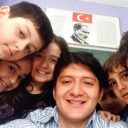 Most recently, Pablo Tutillo '13 taught English and Spanish to young children in Istanbul, Turkey, where he was studying Turkish on a scholarship provided by the Turkish government.