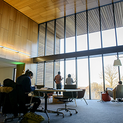 Inside the new Shain Library