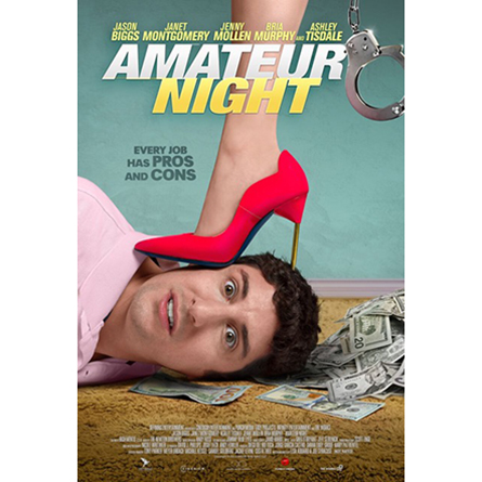 Official poster for Amateur Night movie