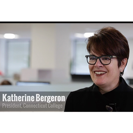 President Katherine Bergeron is interviewed by The Chronicle of Higher Education as part of it's