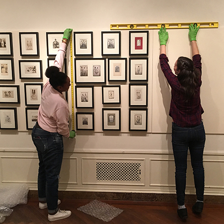 Students curate 'Paper Moon' exhibit at Lyman Allyn museum