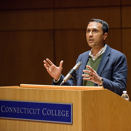 Eboo Patel at Connecticut College