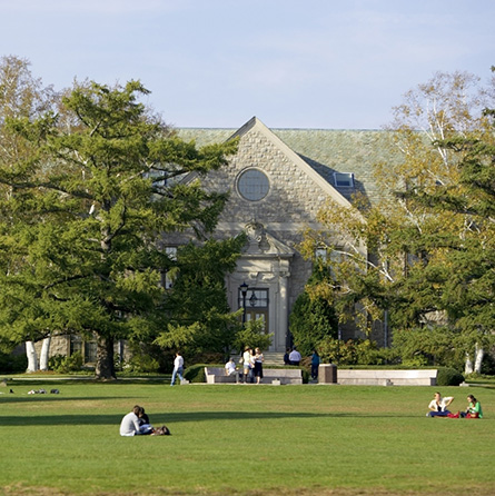 The first floor of the Blaustein Humanities Center will transform into the Global Commons international hub this year.