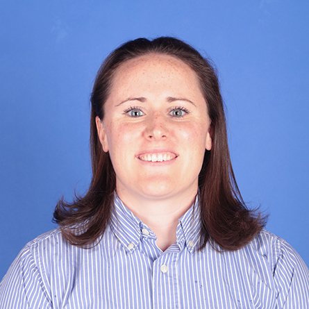 A head and shoulders shot of women's basketball head coach Jackie Smith