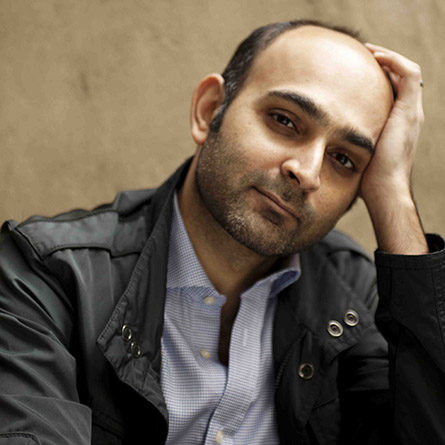 Author Mohsin Hamid, (c) Jillian Edelstein