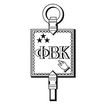 The logo of the Phi Beta Kappa society