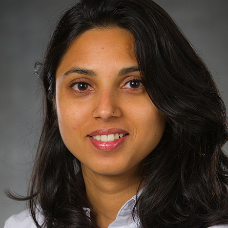 A headshot of Prapti Kafle '16