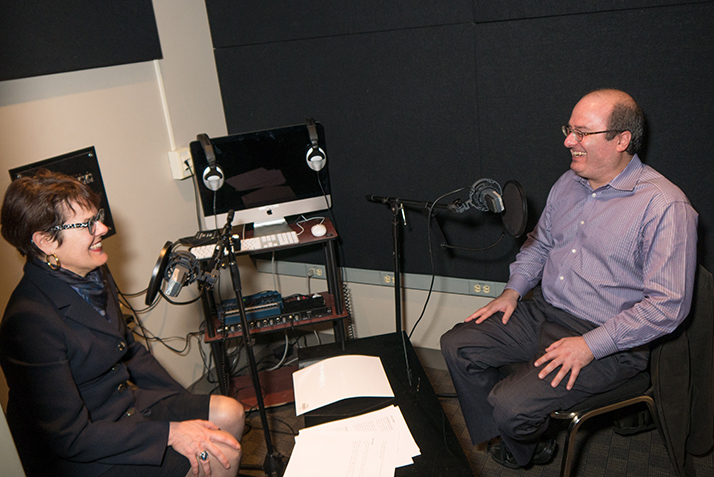 President Katherine Bergeron interviews David Grann for her podcast, Think, Do, Lead.