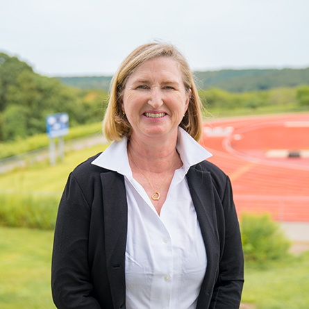 "Maureen ""Mo"" White has been named Director of Athletics and Chair of Physical Education at Connecticut College."