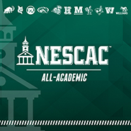 The logo for the NESCAC All-Academic team