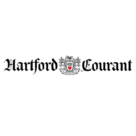 The logo for the Hartford Courant.