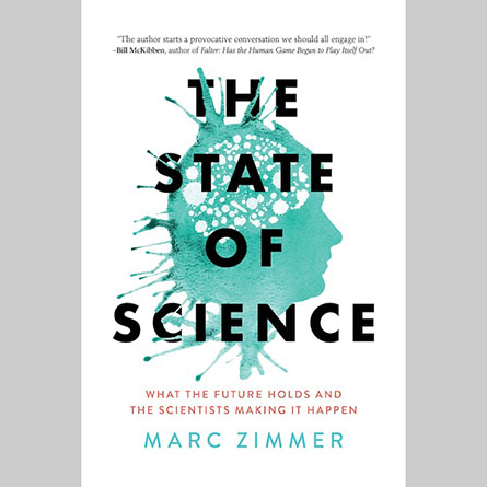 The cover of Professor Marc Zimmer's new book,