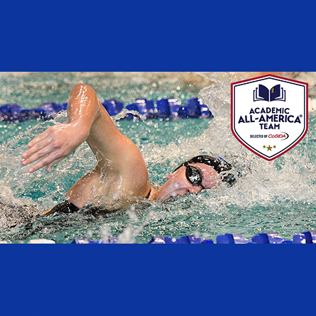 Maddie Ford '21 has been named a CoSIDA Academic All-American.