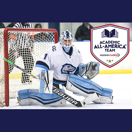 Hockey's Connor Rodericks '20 named COSIDA Academic All-American