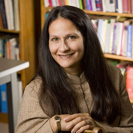 A portrait of professor Sufia Uddin